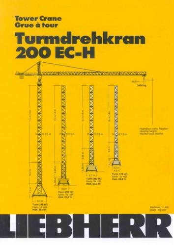 download datasheet cranes potain liebherr raimondi terex comedil rh tower cranes net Liebherr Tower Cranes Specifications Liebherr Self-Erecting Tower Crane